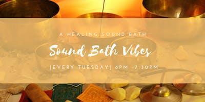 Sound Bath Vibes @ Sass and Self Help