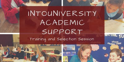 IntoUniversity Brighton Training and Selection Session: Academic Support Tutor