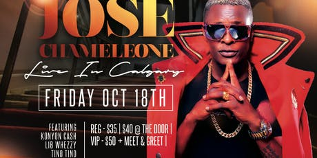 JOSE CHAMELEONE LIVE IN CALGARY tickets