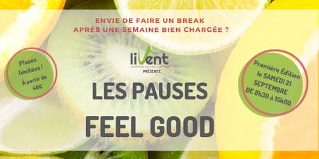 Les Pauses Feel Good billets