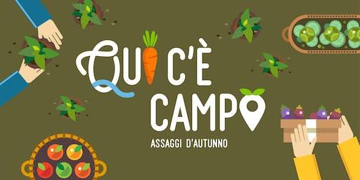"""Qui c'è Campo - """"Olio: gusti, virtù e valori"""""""