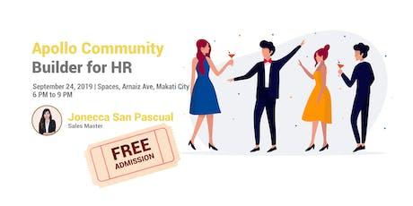 Apollo Community Builder | FREE admission! tickets