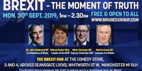 Brexit - The Moment of Truth (Bruges Group)  tickets
