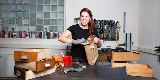 Dortmund: Möbelaufarbeitung Mod. 2: Farben/Lacke, Werkstoffe, Beschläge DIY