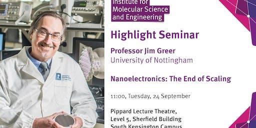 Nanoelectronics: The End of Scaling
