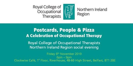 Postcards, People & Pizza: A celebration of Occupational Therapy tickets