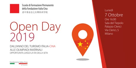 OPEN DAY 2019 Scuola di Formazione Permanente della Fondazione Italia Cina biglietti