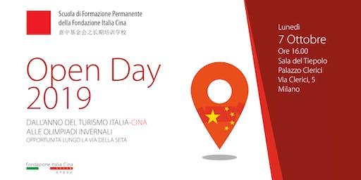 OPEN DAY 2019 Scuola di Formazione Permanente della Fondazione Italia Cina