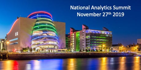 National Analytics Summit 2019 tickets