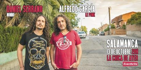 NONNO y ALFREDO GARCÍA en Salamanca entradas