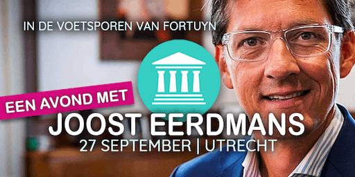 Een avond met Joost Eerdmans: in de voetsporen van Fortuyn