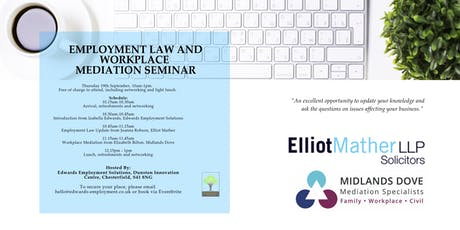 Employment Law and Workplace Mediation Seminar tickets