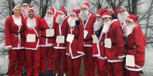 Hope House Essex Braintree and Great Notley Santa Run 2019