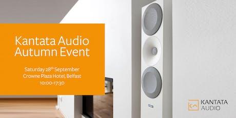 Kantata Audio Autumn Event tickets