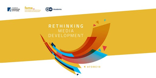 FoME Symposium 2019 - Rethinking media development - New actors, new technologies and new strategies