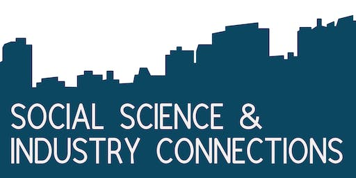 Social Science & Industry Connections networking event