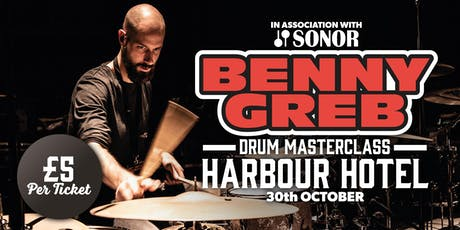 Benny Greb Drum Masterclass at The Harbour Hotel Tickets
