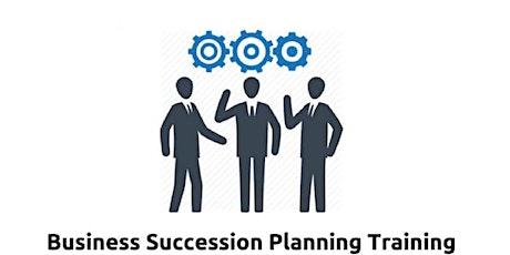 Business Succession Planning 1 Day training in Edinburgh tickets