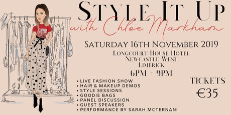 Style it up with Chloe Markham tickets