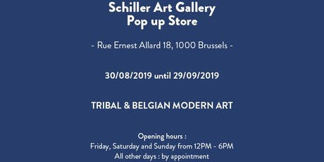Schiller Art Gallery - Post War and Tribal Art - Pop Up Store tickets
