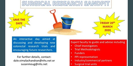 RCS/ACPGBI Surgical Research Sandpit tickets