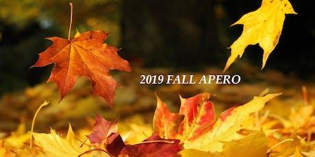 2019 Fall Apero tickets