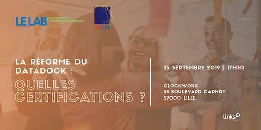 Afterwork #Lille | La réforme du Datadock : quelles certifications ? | Links Consultants - Portage Salarial