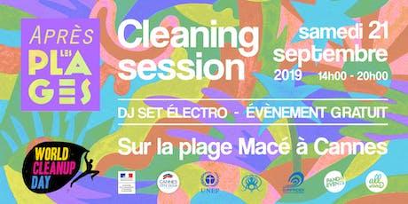 Après les Plages - Cleaning Session billets