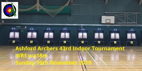 Ashford Archers 43rd Indoor Tournamant - WRS WA18m tickets
