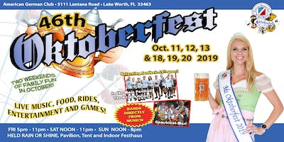 46th Oktoberfest of the Palm Beaches 2019