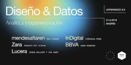 UXPERIENCE 9.0: CRO, experimentación y diseño basado en datos tickets