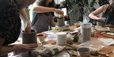 Introduction to Handbuilt Pottery