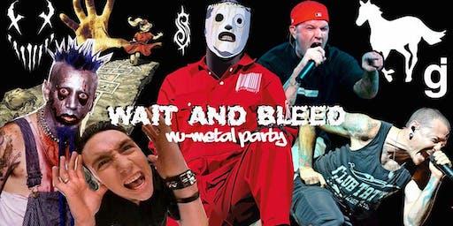 Wait and Bleed - Nu Metal Night (Glasgow)