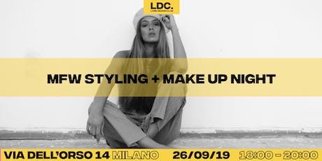LDC's MFW Styling + Make Up Night biglietti