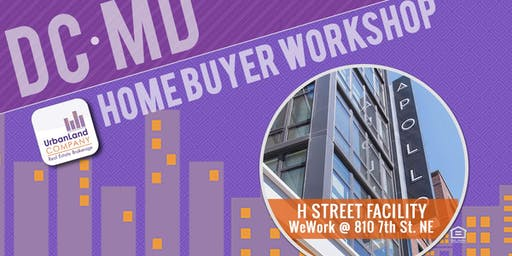 DC/Maryland Home & Condo Buyer Workshop - 9/21/2019