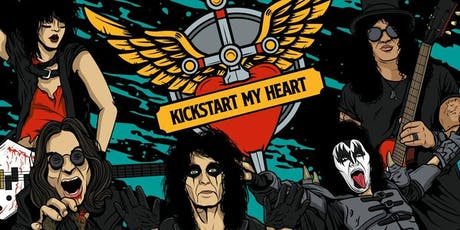 Kickstart My Heart - 80s Metal & Power Ballads Night (Swindon) tickets