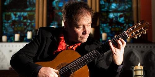 An evening with Pat Coldrick, Virtuoso guitarist and composer