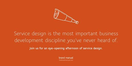 Introductie tot Service Design:  Leer in de schoenen van je klant te staan billets