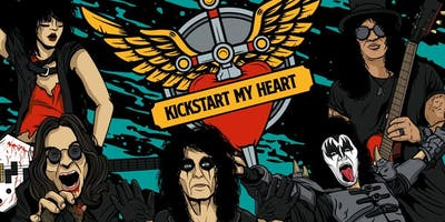 Kickstart My Heart- 80s Metal & Power Ballads Night (Newcastle)