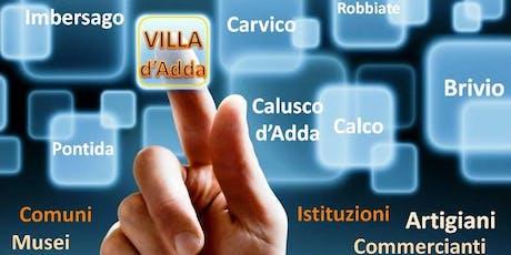 Incontro Presentazione Villa d'Adda Digitale (Lunedì 23 Settembre) biglietti