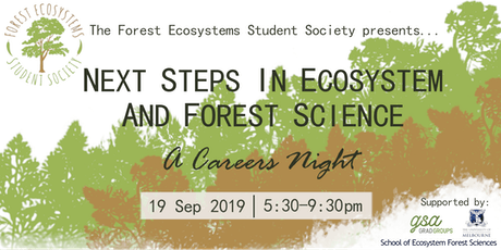Next steps in Ecosystem and Forest Science: A careers night  tickets