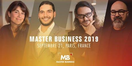 Pré-lancement Master Business Paris billets