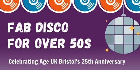 FAB Over 50s Disco tickets
