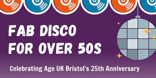 FAB Over 50s Disco