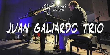 Música Jazz en directo: JUAN GALIARDO TRIO entradas