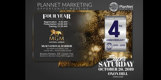 Maryland 4 Year Anniversary Celebration!!