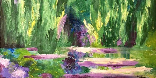 Paint Like Monet (Dine In)