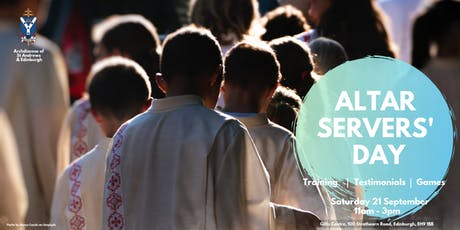 Altar Servers' Day tickets
