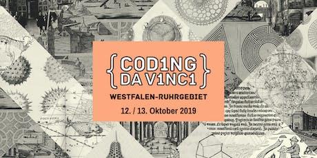"Kultur-Hackathon ""Coding da Vinci"" Westfalen-Ruhrg Tickets"