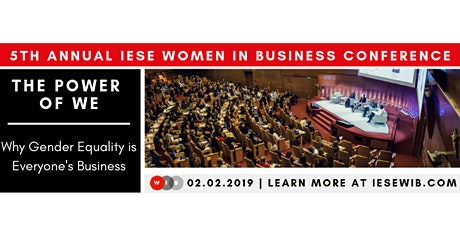5th Annual IESE Women in Business Conference entradas